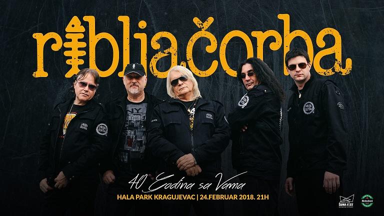 Veliki koncert Riblje Čorbe u Kragujevcu