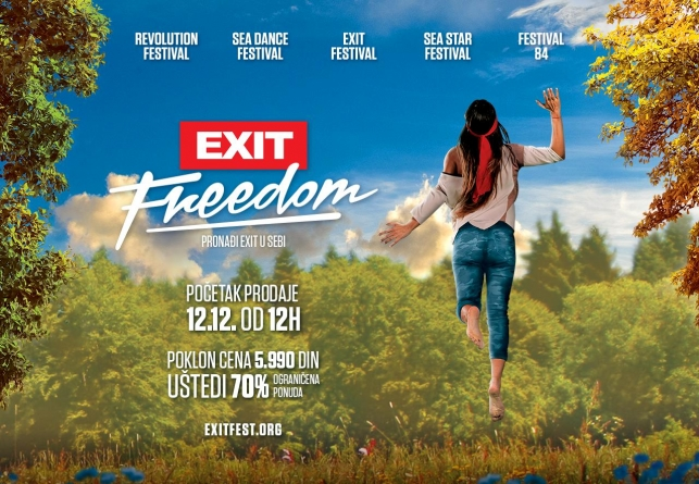 EXIT šalje globalnu poruku sa svih pet festivala u 2018: Izlaz je sloboda
