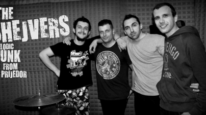 "The Shejvers objavili novi singl i spot ""Nestajem"""