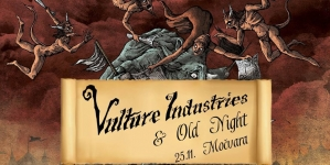 Vulture Industries & Old Night 25. studenog u Močvari