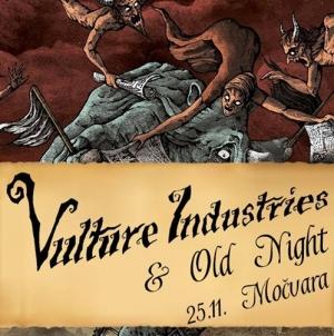 Vulture Industries & Old Night 25. studenog u Močvari