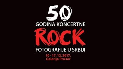 50 godina koncertne rok fotografije u Srbiji: Istorija muzike u 100 fotografija