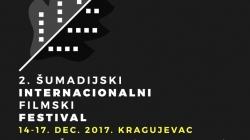 Šumadijski internacionalni filmski festival od 14. do 17. decembra