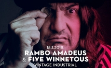 Rambo Amadeus 18. siječnja u Vintage Industrial Baru