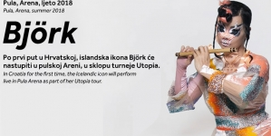 Björk ipak ne dolazi u Pulu