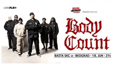 Body Count sutra u Beogradu