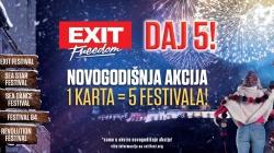 EXIT spremio najveći novogodišnji poklon – pet festivala po cijeni jednog