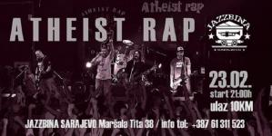 Atheist Rap u sarajevskoj Jazzbini