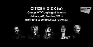 Akustični grunge spektakl u četvrtak u Saxu