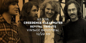 Creedence Clearwater Revival Tribute u Vintage Industrial Baru
