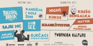Treći festival Drito iz Tvornice će uskoro biti rasprodan