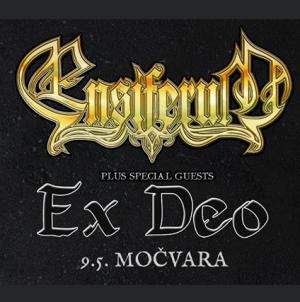 Ensiferum i Ex Deo 09.05. u klubu Močvara