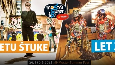 Letu štuke i LET 3 nova imena Mostar Summer Festa