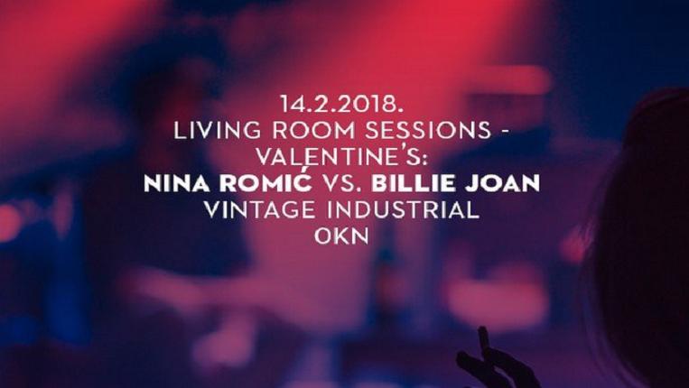 Living Room Sessions: Nina Romić vs Billie Joan u Vintageu