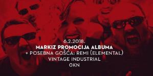 Markiz najavili promociju albuma u Vintageu
