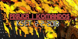 """Promocija albuma """"Fleševi s Keftera"""" Peglice i Komandosa 2. veljače u KSET-u"""