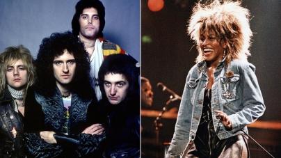 Tina Turner i grupa Queen dobivaju nagradu za životno djelo
