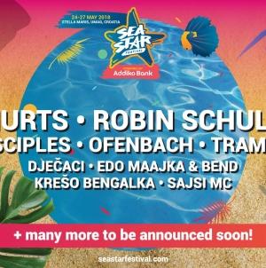 Sea Star u prvom valu donosi Hurts, Robina Schulza, hitmakere i strahovitu rap postavu