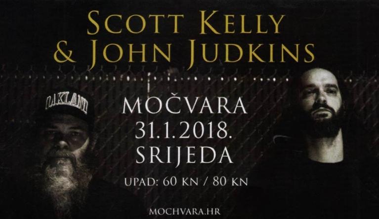 Scott Kelly i John Judkins sutra u Močvari