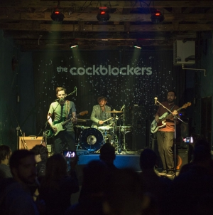 The Cockblockers sutra na Zidiću Doma omladine Beograda