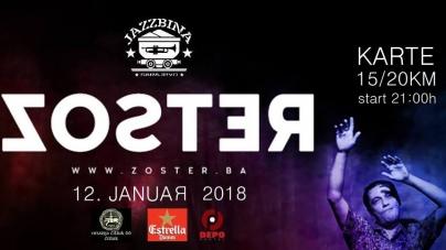 Zoster sutra u sarajevskoj Jazzbini