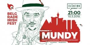 Irski muzičar Mundy na šestom Beogradskom Irskom Festivalu