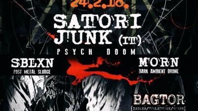Satori Junk, SBLXN, Morn i Bagtor u klubu Attack
