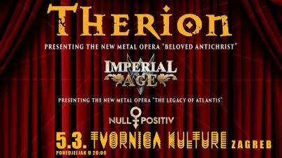 Therion predstavlja metal operu 5. ožujka 2018. u zagrebačkoj Tvornici Kulture