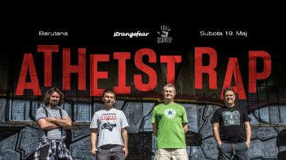 Atheist Rap 19. maja u Barutani slave rođendan i sviraju pesme s prva tri albuma