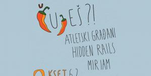 Čuješ?! u KSET-u: Atletski Građani, Hidden Rails i Miriam