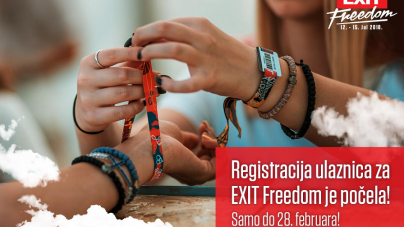 Počela je registracija ulaznica za EXIT Freedom Festivale