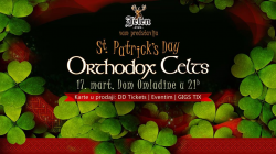 Orthodox Celts 17. marta u Domu omladine Beograda