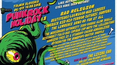 Objavljen program za Punk Rock Holiday