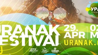 Uranak festval od 29. aprila do 2. maja