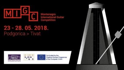 Međunarodno takmičenje gitarista u Titvtu i Podgorici