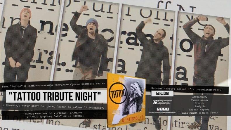 Promocija albuma i spota prijedorske grupe Tattoo