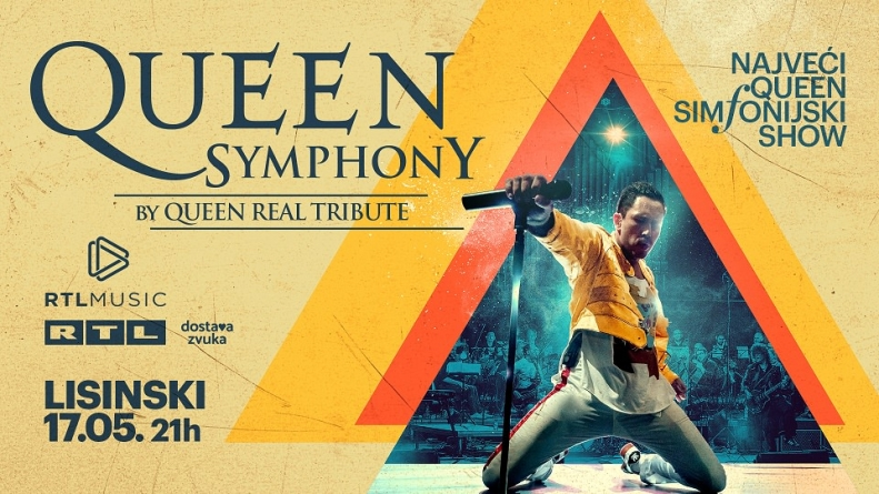 Queen Symphony Show 17. svibnja u Lisinskom