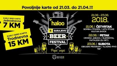 Objavljen program haloo Sarajevo beer festivala 2018