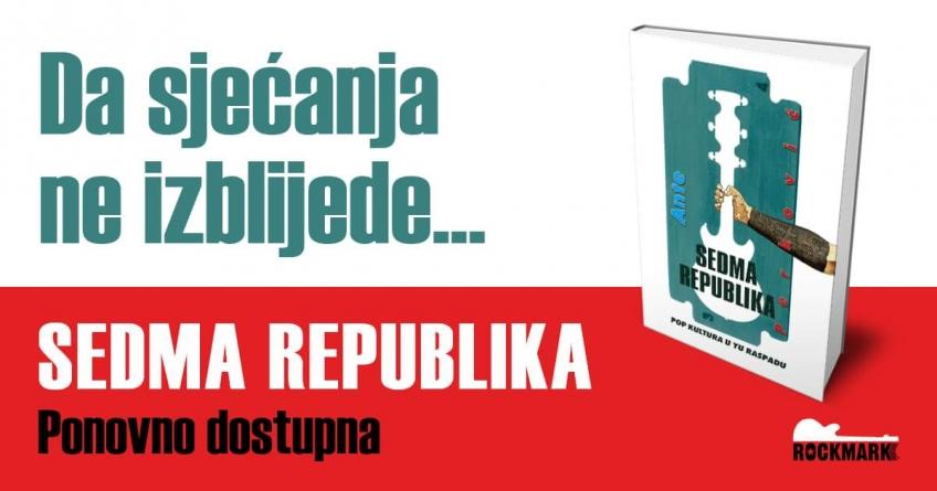 Novo izdanje knjige 'Sedma republika' Ante Perkovića
