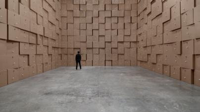 Zimoun: zid od zvuka u Galeriji Močvara