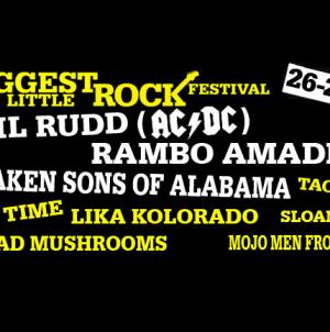 Poznati svi izvođači 5th Biggest Little Rock Festivala