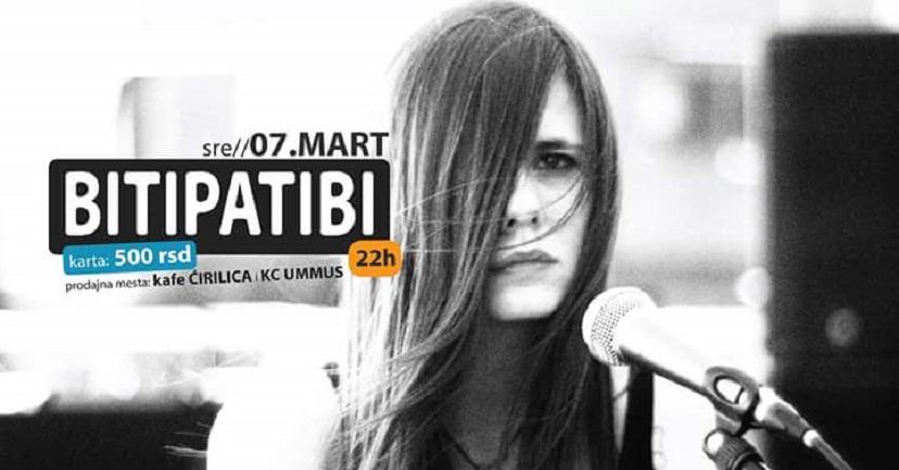 Bitipatibi nastupiće večeras u Kragujevcu