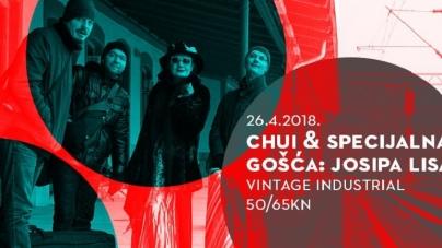 Chui i Josipa Lisac 26. travnja u Vintage Industrialu