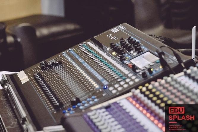 Otvoreni upisi u edukaciju 'Produkcija zvuka'
