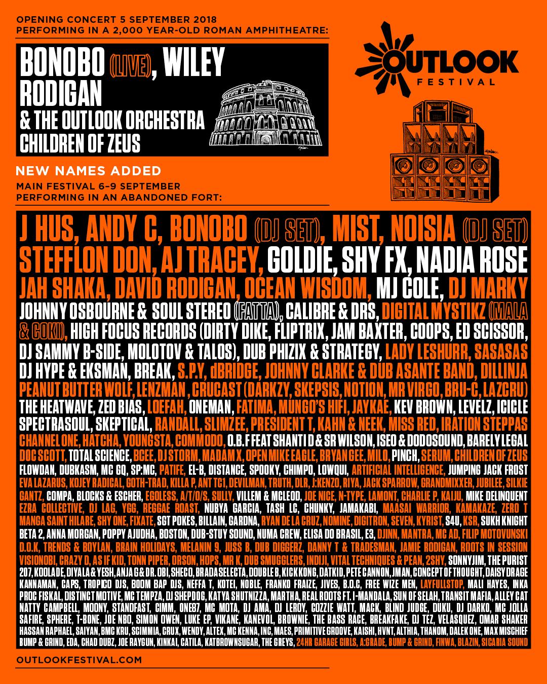 Nova imena jedanaestog Outlook festivala