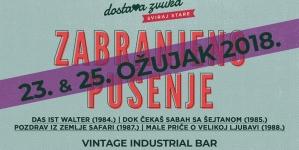 Sviraj Stare – Nadodan i drugi koncert Zabranjenog pušenja, 25. ožujka u Vintage Industrialu