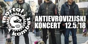 Deveti Antievrovizijski koncert benda Mortal Kombat 12. maja