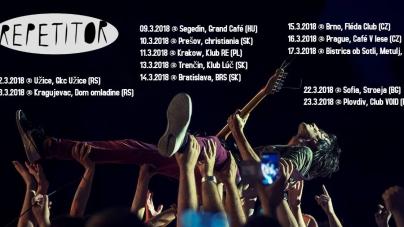 Eksplozivnih post-punk trio Repetitor na novoj europskoj turneji