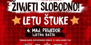 Koncertom benda Letu štuke u Prijedoru počinje obilježavanje Međunarodnog dana pobjede nad fašizmom