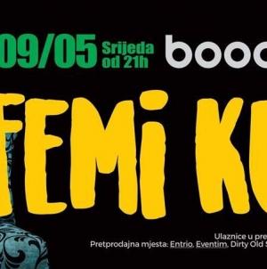 Femi Kuti 9. svibnja u zagrebačkom klubu Boogaloo